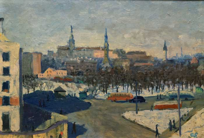 "Esther Roode ""Tallinna panoraam"""